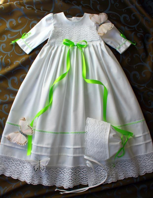 Baby Mädchen  56-62-68-74-80-86  --- 100 /% BAUMWOLLE Junge Taufkleid 2 tlg.